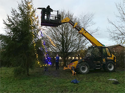 tree erecting